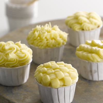 Muffins con Frosting