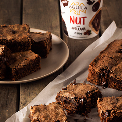 Brownie con Aguila Nut